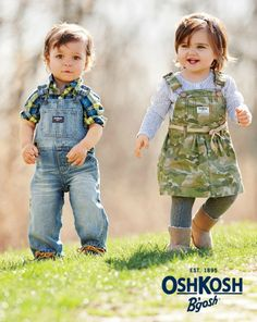 Camo is on trend this season for kids - and totally can go girly too!