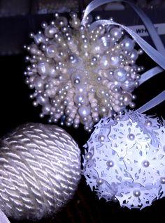 styrofoam ornaments