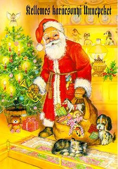 Hungarian Christmas card