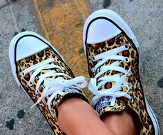 Leopard chucks♥