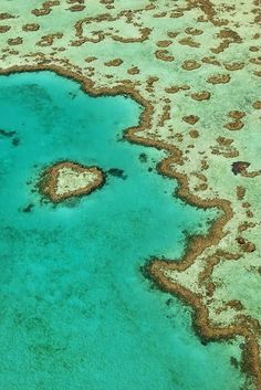 Heart Reef, Great Barrier Reef, Queensland, Australia