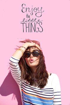 enjoy the little things #splendideveryday