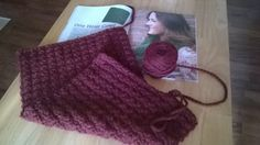 Crochet Along - My One Hour Cowl from Love of Crochet's Crochet More 2014 Issue is nearly finished!