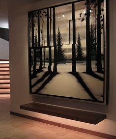 Lighting design in an Aspen, Colorado home