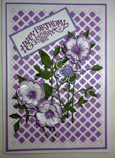 dogwood blossom die card