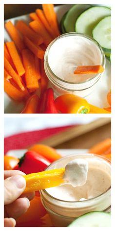 Homemade Ranch Dressing-mayo free. No MSG, no preservatives, just real Ranch goodness!