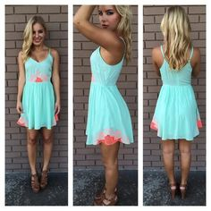 Short  summer dress for 2014