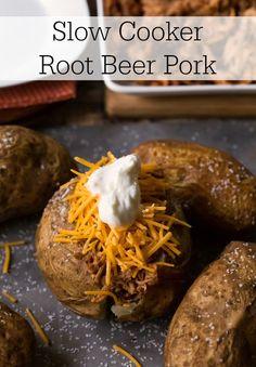 Slow Cooker Root Beer Pork