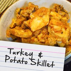 Recipes for Diabetes: Turkey & Potato Skillet