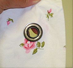 Summer Sewing ~ Grommet Tutorial « Sew,Mama,Sew! Blog