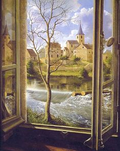 Look out of any window on pinterest window view for Fenetre industrie aveyron