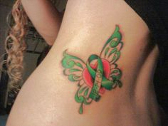 My tattoo in honor of my moms kidney transplant & kidney disease awareness. <3 be a donor, save a life.