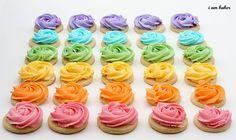 Rose Cookies.