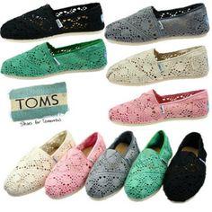 lace toms