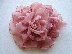 EASY METHOD, BEAUTIFUL SILKY FLOWER # 2