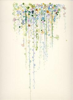 Paintings: string of pearls