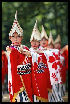 Watch Japanese performers dance at the Yosakoi Festival in Tokyo, Japan #monogramsvacation