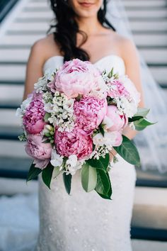 perfect peony bridal bouquet / picture © Bethany Small Photography 2014