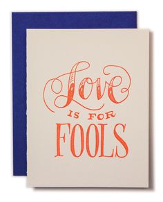 Love is For Fools Ca