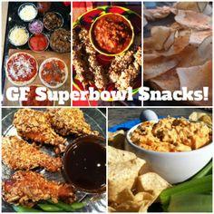 Gluten Free Snacks for the Superbowl on www.theglutenexchange.com