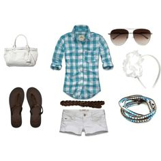 Summer Outfit...without the headband