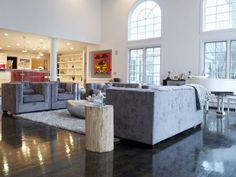 Rev Run's Renovation: A Great Room Conversion : Tv Shows : DIY Network