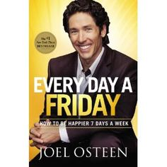 "I'm probably going into this book more critically than most because of Osteen's ""prosperity"" stigma. But I will say this, that is one positive, encouraging dude!"