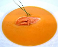 Chilled Creamy Carrot + Sweet Popato Soup