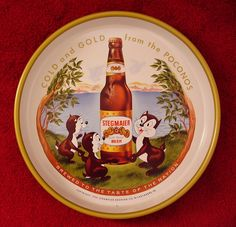 Vintage - Stegmaier Brewing Co of Wilks-Barre - Pennsylvania - USA - The beer is still brewed at the Lion Brewery - Wilks-Barre - Tray - 1959
