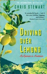 "Chris Stewart's ""Driving Over Lemons"" is the book that Kerri mentioned during our segment on Seville. It's a very funny memoir by a former drummer for Genesis."