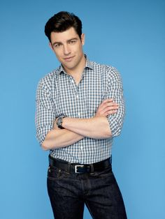 Max Greenfield as Schmidt in NEW GIRL on FOX