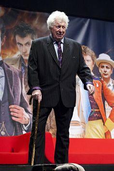 Tom Baker at the Doctor Who Celebration.