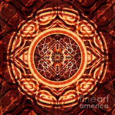 Chain Reaction - 5 Print by ©ifourdezign #kaleidoscopeArt #Kaleidoscope #Symmetry #Marquetry #Reflections #Abstract #AbstractArt #Geometry #DigitalArt #Patterns #FineArtAmerica (Please retain ALL credit -TY)