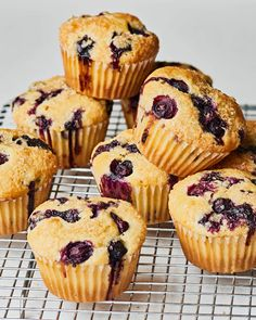 How To Make the Best, Easiest Blueberry Muffins | Kitchn