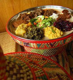Demera Ethiopian. Loved the lentil sambussas, anything wat, and the kifka (order it rare - lub lub).