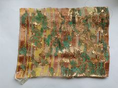 "development for ""Passing of the time"" -3 - emi fujisawa brilliant thing, final project, artisan fabric, fiber art"