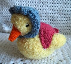 Free Knitting Pattern Duck Hat : JEMIMA PUDDLE DUCK KNITTING PATTERN FREE - VERY SIMPLE ...