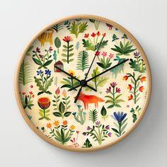 Garden Wall Clock by Aitch