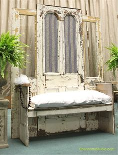 Shabby Chic Loveseat