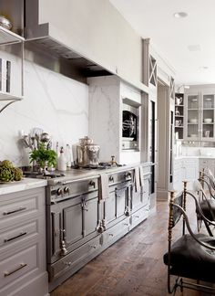 that stove is a work of art! --House Beautiful
