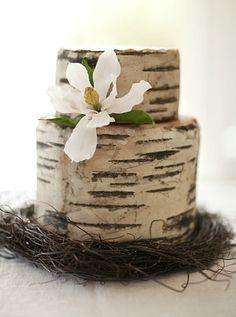 Love how it looks like a tree stump!
