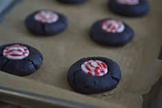 Chocolate Thumbprint Cookies - Gluten-Free on a Shoestring