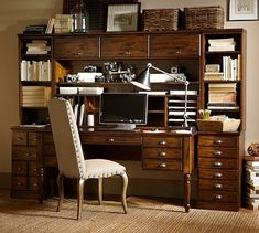 Printer's Office Suite #potterybarn