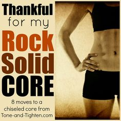8 moves to get a rock solid core #fitness #abs
