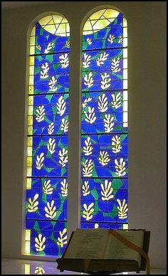 The Chapelle du Rosaire,