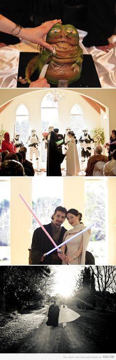 #StarWars #Wedding
