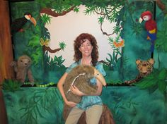 """Wild Wednesdays"" brings the return of Katie Adams' Puppet Theater to the Leesburg Library. All ages are invited to see ""Animal Stories of the Amazon Rainforest"" on July 30 at 11am. FREE Brought to you by the Friends of the Leesburg Library."