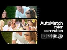 AutoMatch between Shots in Final Cut Pro X, Premiere Pro, After Effects and Motion
