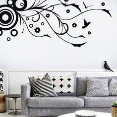 Vinilos on pinterest el camino vinyl wall decals and for Vinilos pared pasillo