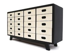 1950's chest of drawers by James Leonard for Esavian, UK.